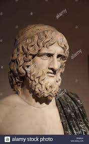 bust of pluto greek hades god of the underworld roman copy