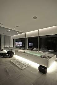 interior modern bathroom ceiling light commercial restroom