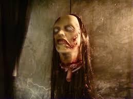 halloween horror props decapitated woman horror prop