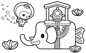 Octonauts Coloring Pages Dashi Page Best Coloring Disney Book Octonauts Coloring Pages