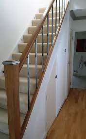 Oak Banister Gallery Interskills Solutions Ltd Building Services