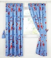 Childrens Curtains Debenhams Bluezoo Kids U0027 Blue Space Print Curtain Set Debenhams Boys Room