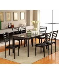 60 inch kitchen table huge deal on furniture of america hartley black 60 inch dining table