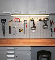 Tool Bench Organization 125 Best Garage Organization Images On Pinterest Garage