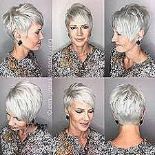 hair styles for 80 years and thin hair short hairstyles elegant short hairstyles for salt and pepper hair