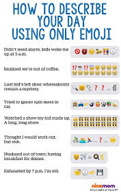 how to describe your day using only emoji l o l emoji