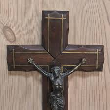 wooden crucifix antique crafted wooden crucifix with brass corpus inessa