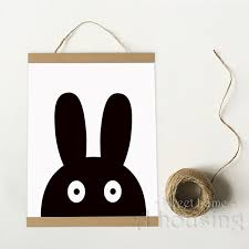 Batman Home Decor Ready To Hang Canvas Art Print Painting Poster Cartoon Rabbit