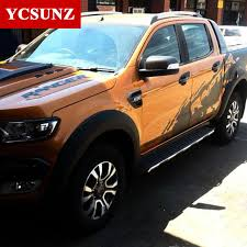 accessories for a ford ranger aliexpress com buy 2016 2017 fender flares for ford ranger 2016