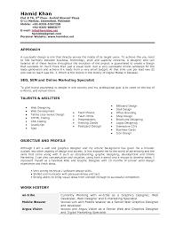 Graphic Designer Resumes Graphic Designer Sample Resume Socialmediaworks Co