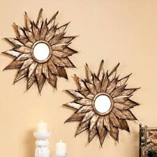 have to have it evergreen enterprises metal sunflower wall mirror