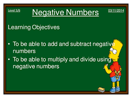 multiplying and dividing negative numbers by dannytheref
