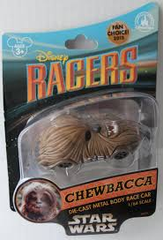 amazon com disney racers star wars chewbacca 1 64 scale die cast