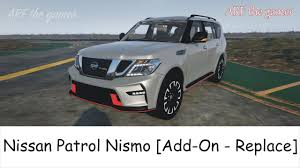 nissan patrol nismo 2017 nissan patrol nismo gta 5 by arf the gamer youtube