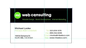 card illustrator business card template