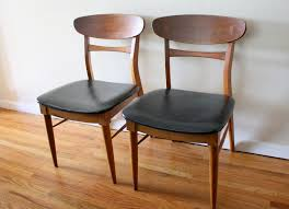 mid century modern lane dovetail chairs picked vintage