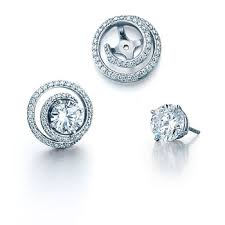 diamond earring jackets spark earring jackets schwanke kasten jewelers