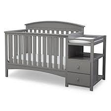 crib changing table combo baby crib with changing table amazon com
