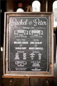 Wedding Program Chalkboard Stand Alone Chalkboard Wedding Program My Rustic Winter Wedding