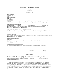 Vitae Resume Template First Resume Template World Of Letter U0026 Format