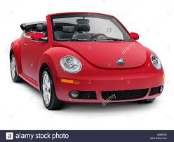 volkswagen new car red 2010 volkswagen new beetle convertible car isolated on white
