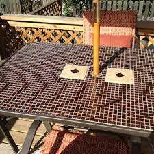 Tile Top Patio Table 84 Best Tile Top Patio Table Images On Pinterest Patio Table