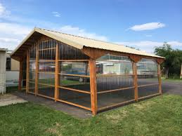 Clear Corrugated Plastic Roof Panel Greenhouse by The Perfect Greenhouse Dandi Carports Can Be Sided And Roofed
