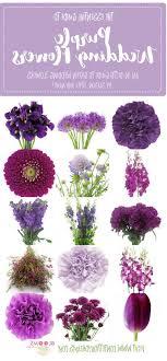 types of purple purple wedding flower names types purple flowers for wedding 7
