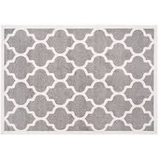 Grey And White Outdoor Rug Anchor Your Patio Ensemble Or Sunroom Seating Group With This