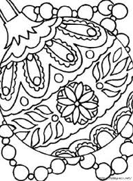 free coloring pages ornaments coloring page