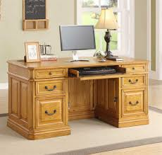 Small Oak Desk by Hide An Executive Computer Desk Thediapercake Home Trend