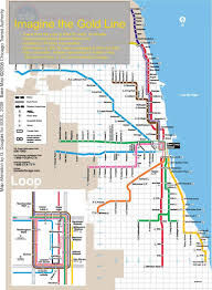 Map Chicago blue line cta map chicago train map blue line united states of