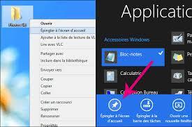 comment mettre des icones sur le bureau tuiles windows 8 icônes personnalisées pour raccourcis dossiers
