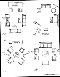 Living Room Seating Arrangement by Living Room Furniture Arrangement Examples