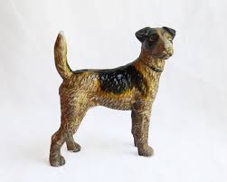 Door Stops Vintage Cast Iron Terrier Door Stop Omero Home