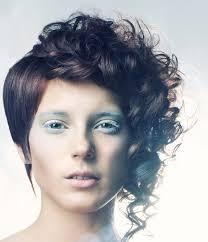 short pixie haircuts for curly hair curly part straight short asymmetric pixie haircut 2017