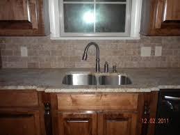 Limestone Kitchen Backsplash Uncategorized Kitchen Sink Backsplash With Fantastic Sink Faucet