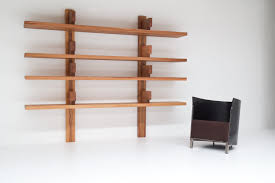 Wall Mounted Bookcase Shelves Pierre Chapo Wall Mounted Book Shelves Vanlandschoote