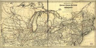 Toledo Ohio Map Wabash And Erie Canal Wikipedia