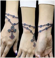 bracelet tattoo designs wrist images Top 15 bracelet tattoo designs with pictures styles at life jpg