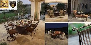Lee Patio Furniture by St Charles Patio Furniture Collection Ow Lee Wrought Iron