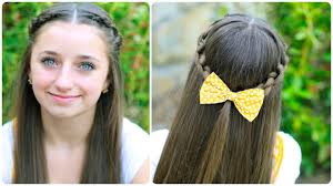 plait at back of head hairstyle how to create a knotted braid tieback braid hairstyles cute