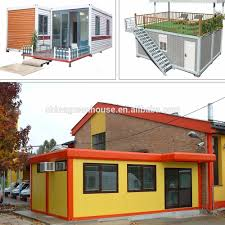 professional cost light frame prefab mobile house container shop
