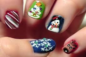 lee spa nail celebrationnailsalon christmas nail art designs