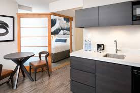 Urban Kitchen Downtown Vancouver Extended Stay Hotel Delta Hotels Vancouver