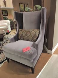 Bernhardt Leather Sofa Price by Furniture Grey Wingback Chair With White Bernhardt Sofa And Rug