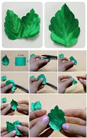 leaf ribbon how to make ribbon leaves usefuldiy