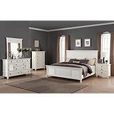 Bed And Nightstand Set Amazon Com Roundhill Furniture Regitina 016 Bedroom Furniture Set