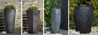 outdoor pots and planters home design styles