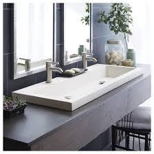 troff sinks bathroom amazing concrete trough sinks bathrooms photo ideas yoyh org